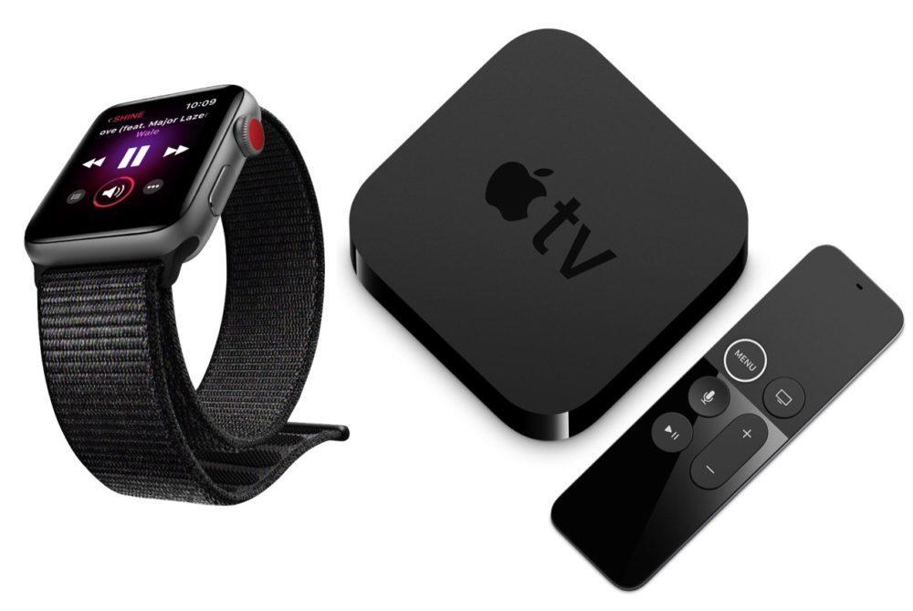 apple watch apple tv 1000x669 La bêta 1 développeur de watchOS 7.3 et de tvOS 14.4 est disponible