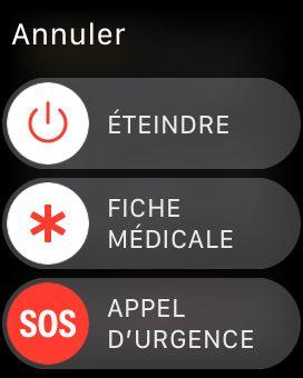 apple watch fiche medicale Consulter la fiche médicale, en urgence, d'un iPhone verrouillé