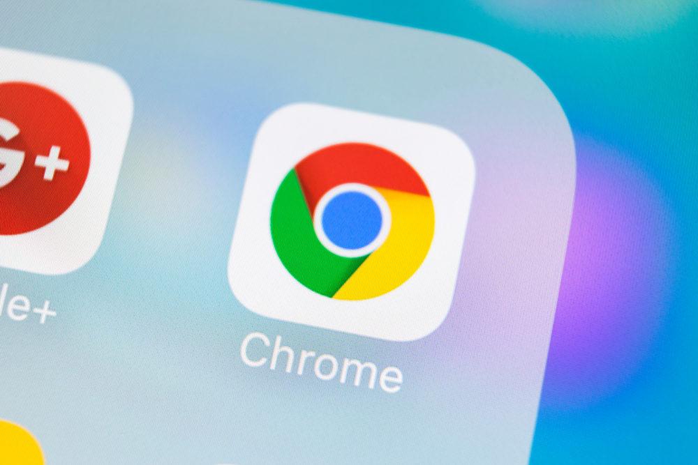 google chrome navigateur 1000x667 Chrome sur iOS est à jour : capture décran complète dune page, Touch ID/Face ID/code pour la navigation privée