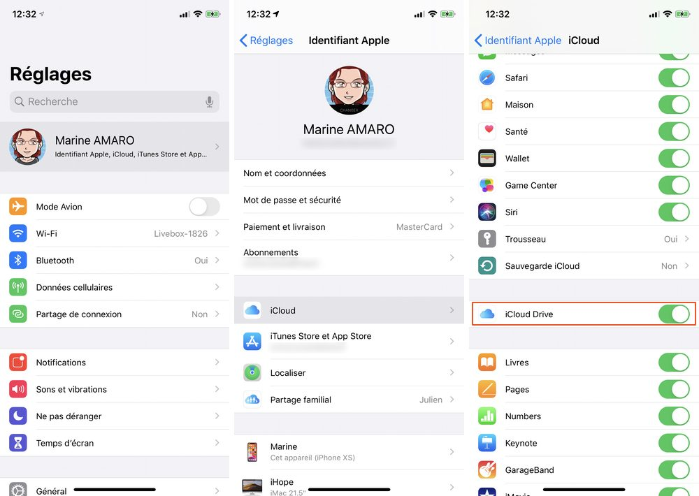 iphone activer icloud drive Comment restaurer vos discussions WhatApp sur iPhone