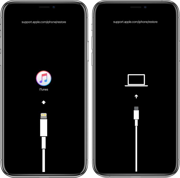 iphone mode recuperation recovery Comment mettre son iPhone ou iPad en mode recovery