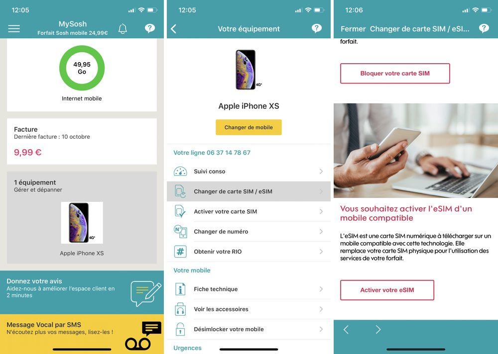 iphone sosh Comment transférer son eSIM sur son nouvel iPhone