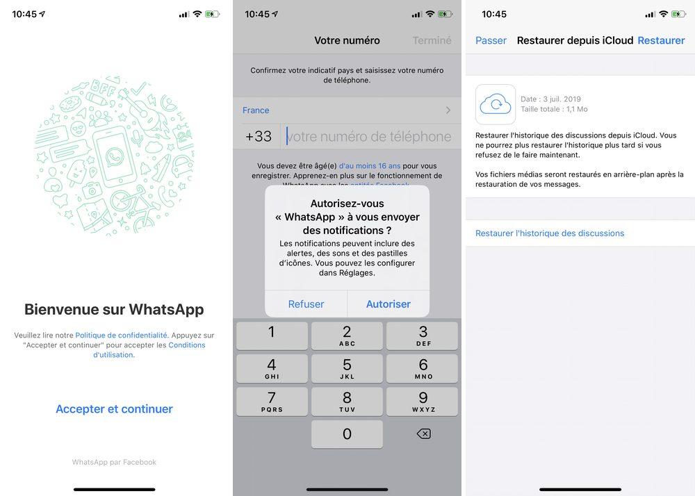 iphone whatsapp restaurer Comment restaurer vos discussions WhatApp sur iPhone