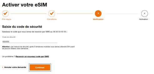 orange activer esim Comment transférer son eSIM sur son nouvel iPhone