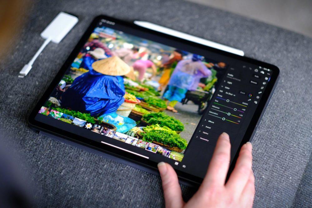 Adobe Photoshop iPad Pro 1000x667 Lapplication Adobe Photoshop est à présent disponible sur iPad