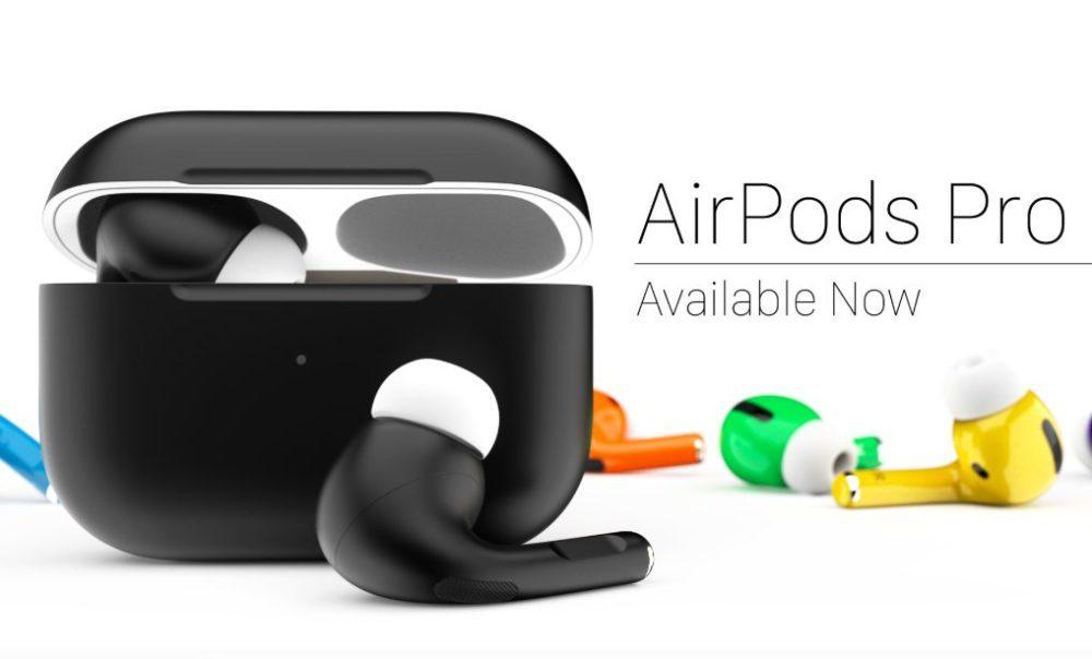 AirPods Pro ColorWare 1 1000x604 Vous voulez les AirPods Pro en couleurs ? Cest possible avec ColorWare