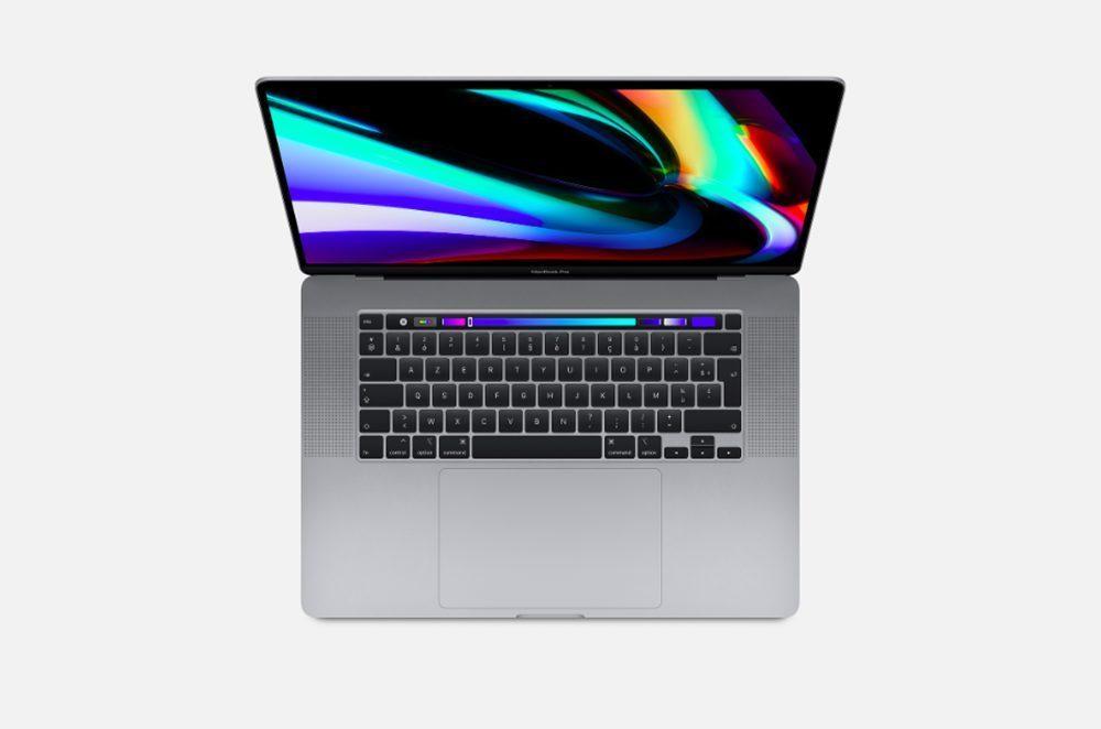 Apple MacBook Pro 16 Pouces 1 1000x662 Le nouveau MacBook Pro 16 pouces dApple utilise toujours une webcam 720p et pas de Wi Fi 6