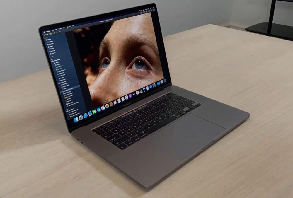 Apple Macbook Pro 16 Pouces MacBook Pro 16 pouces : il est possible de changer le taux de rafraîchissement de lécran