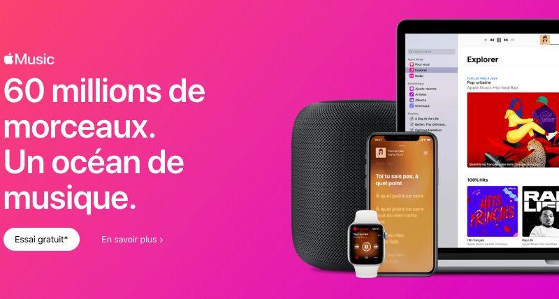 Apple Music 60 Millions Musiques Apple Music : 60 millions de musiques sont à présent disponibles