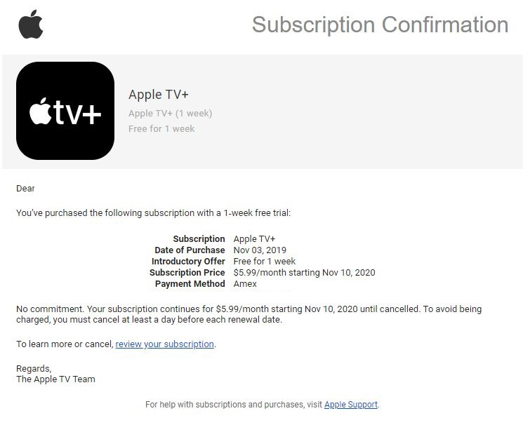 Apple TV+ : vous ne pouvez pas avoir votre abonnement d1 an gratuit ? Un code vous sera offert