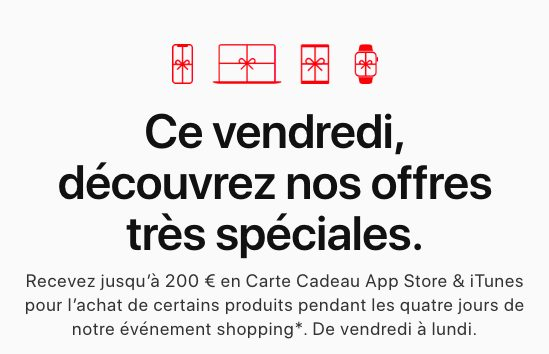 Black Friday Apple 2019 Black Friday 2019 : voici loffre quApple propose en France