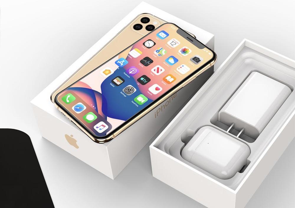 Boite iPhone 12 AirPods iPhone 12 : les AirPods seraient inclus dans la boîte