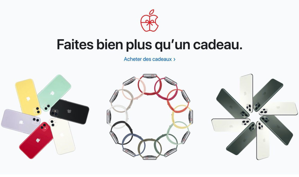 Idees Cadeaux Noel Apple 2019 Black Friday 2019 : voici loffre quApple propose en France