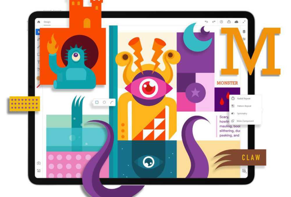 Illustrator Sur iPad 1000x676 Lapplication Adobe Illustrator sur iPad sera disponible en 2020