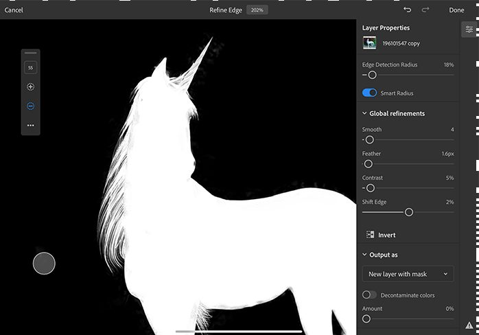 Refine Edge Photoshop Après les critiques négatives, des nouveautés sont annoncées sur Photoshop sur iPad