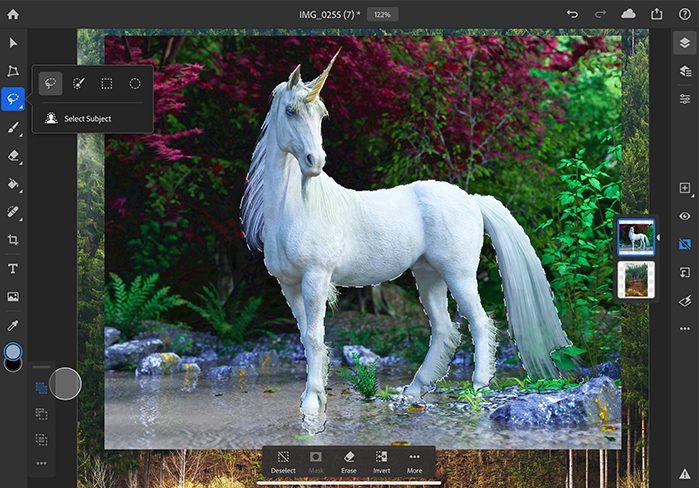 Select Subject Photoshop Après les critiques négatives, des nouveautés sont annoncées sur Photoshop sur iPad