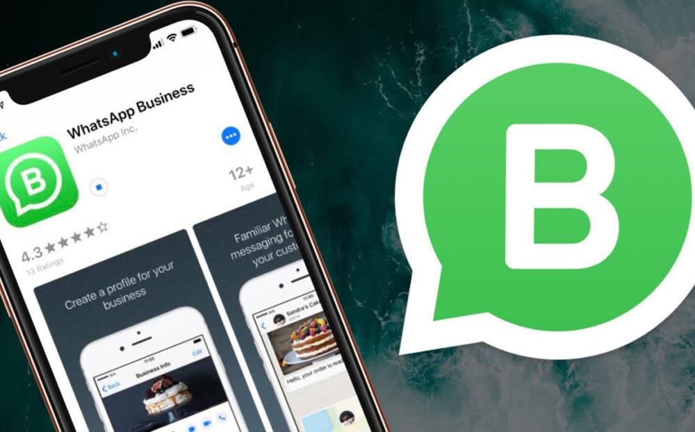 WhatsApp Business iPhone 1000x622 WhatsApp et WhatsApp Business mis à jour : quelques petites nouveautés ajoutées