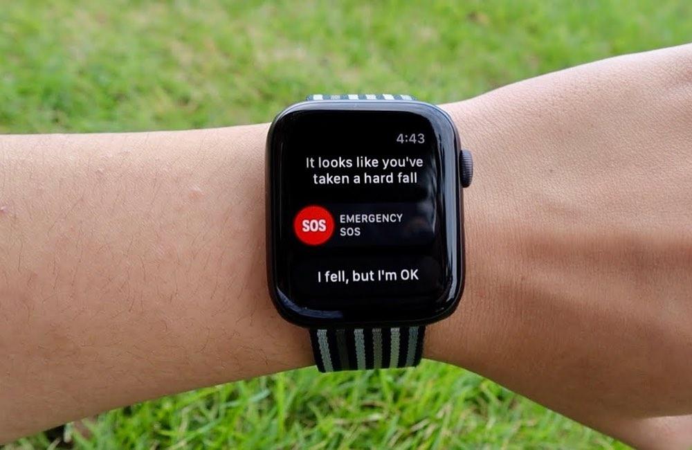 apple watch detection chutes 2 Sous watchOS 7, lApple Watch serait capable de prévenir les crises de panique