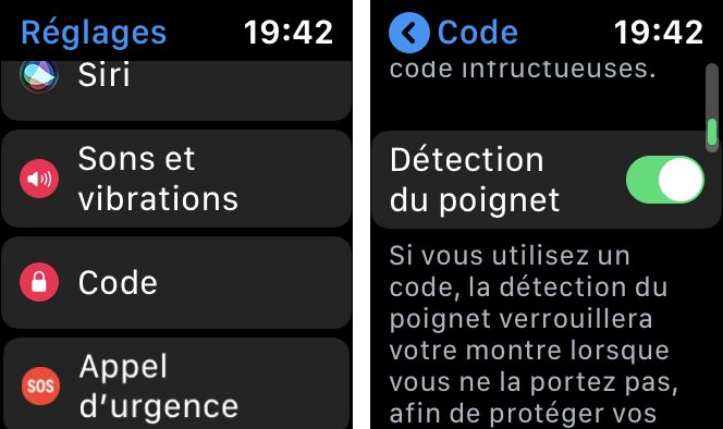 apple watch detection poignet L'Apple Watch et la détection des chutes