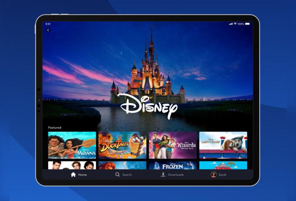 disney plus application 1000x679 Disney+ est disponible sur iPhone, iPad, Apple TV... (aux États Unis pour linstant)