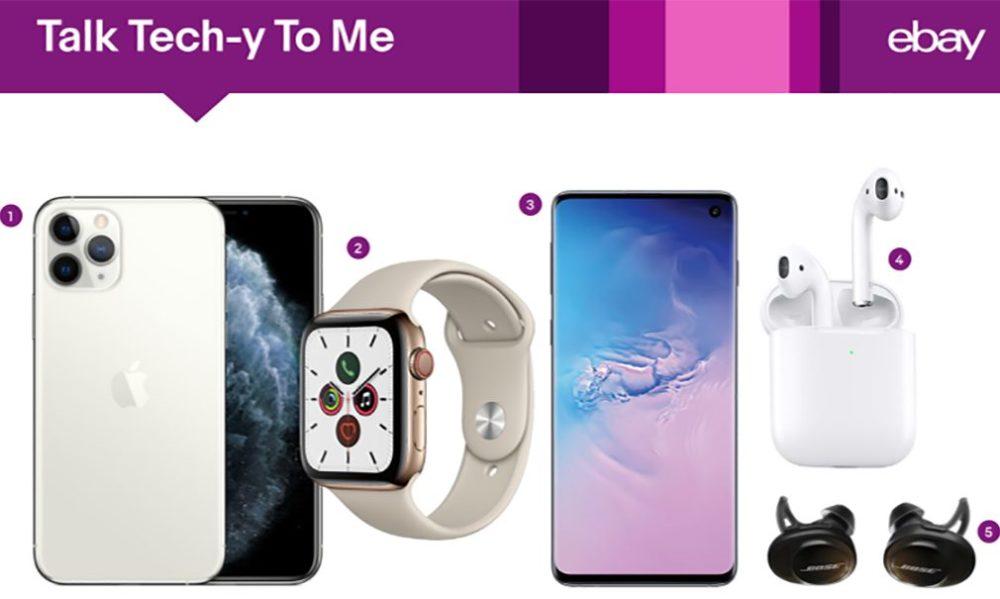 eBay iPhone 11 Pro AirPods 2 Tech LiPhone 11 devient le produit tech le plus recherché sur eBay
