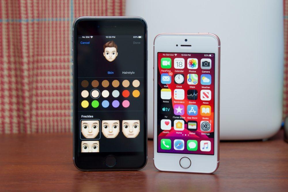 iOS 13 iPhone 6s iPhone SE 1000x667 iOS 13.3 bêta 1 : voici la liste des nouveautés retrouvées