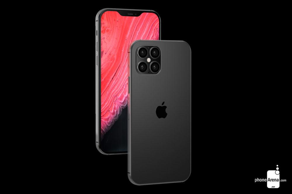 iPhone 12 camera encoche 1000x667 iPhone 12 : Bloomberg confirme le design proche de celui de liPhone 4 et une encoche plus petite