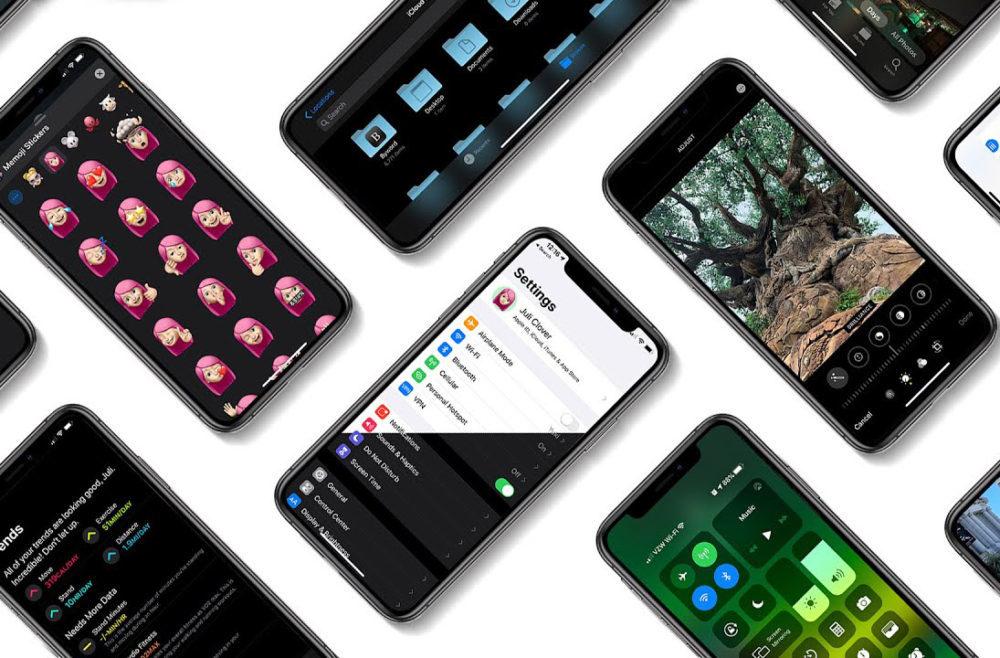 ios 13 iphone 1 1000x658 iOS 13.4 bêta 2 : nouvelle disposition des boutons dans lapplication Mail