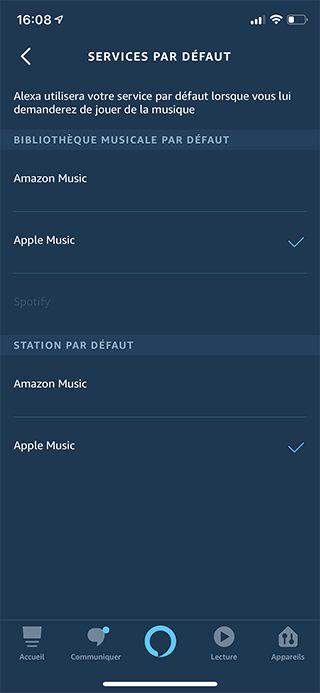 iphone alexa apple music defaut Comment écouter la musique d'Apple Music avec Alexa d'Amazon