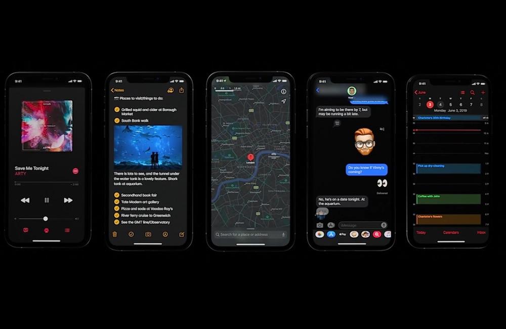 iphone mode sombre 1 Comment utiliser le mode nuit sur iPhone ou iPad
