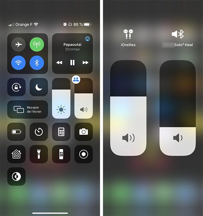 iphone son partage audio Comment écouter de la musique à 2 sur un même iPhone avec le partage audio