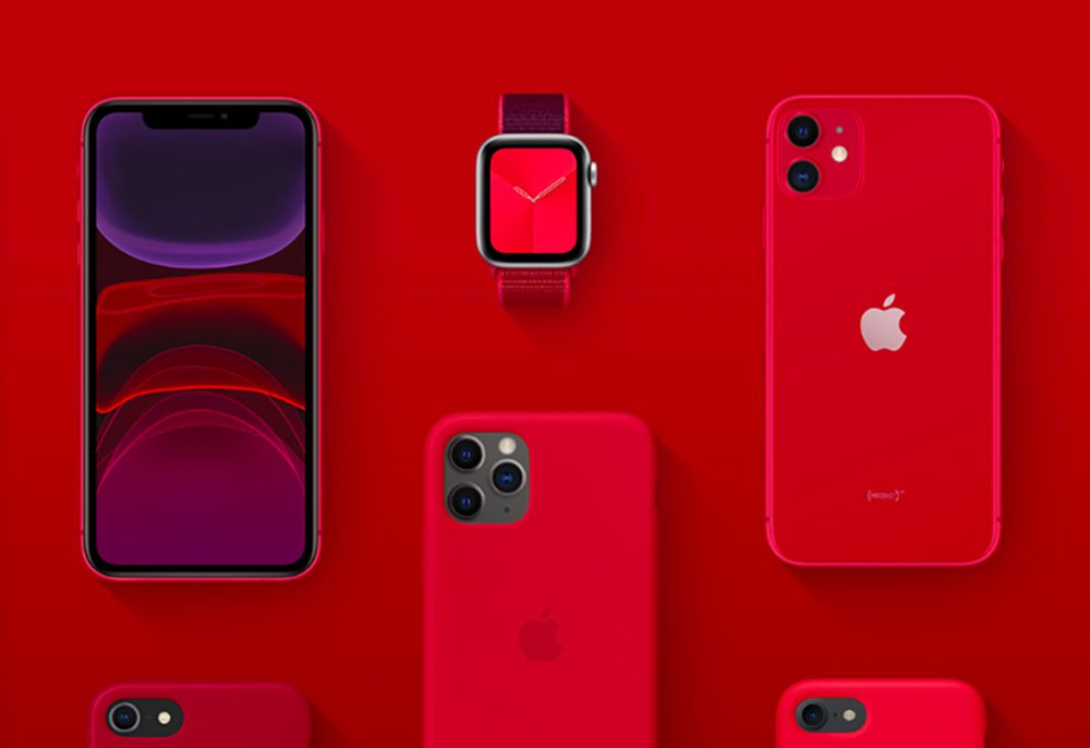 Apple Product Red Apple Watch iPhone 11 Lutte contre le sida : Tim Cook indique quApple a fait don de 220 millions de dollars à (RED)
