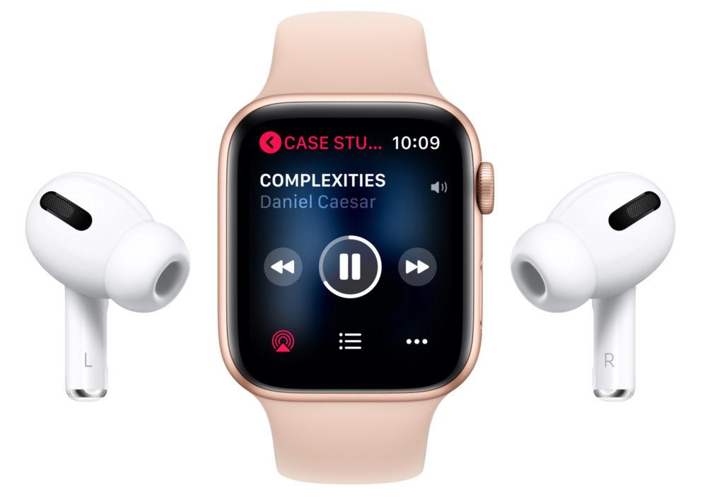 Apple Watch 5 AirPods Pro LApple Watch et les AirPods pourraient booster les résultats financiers dApple