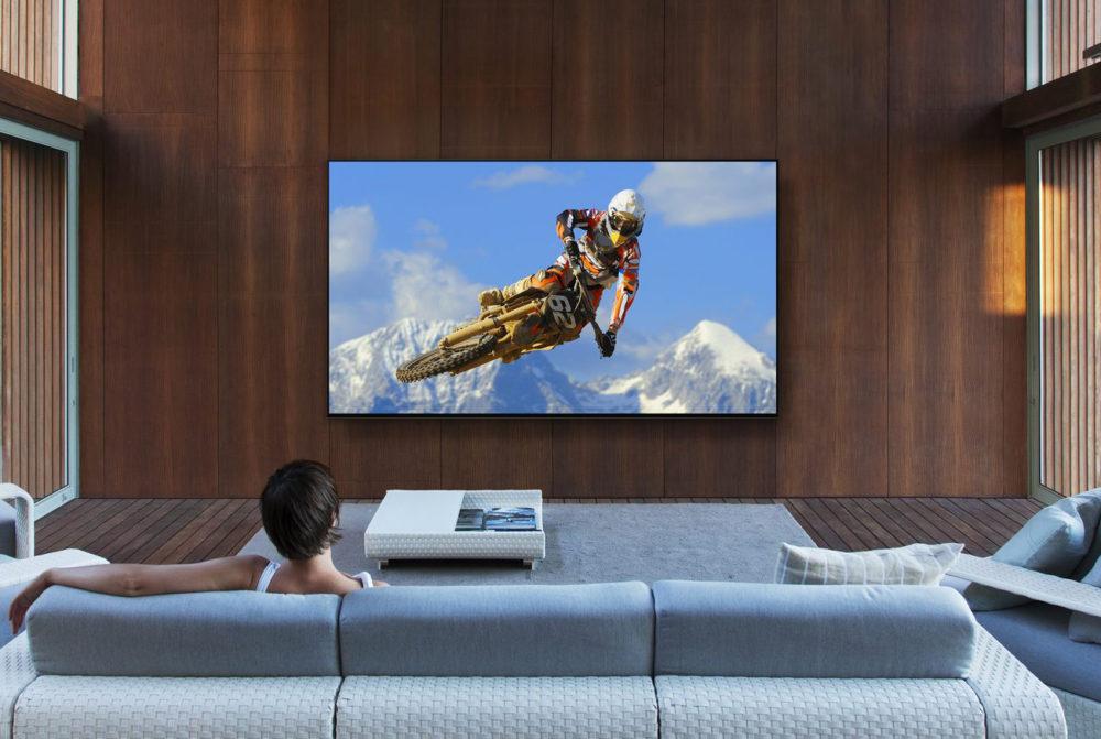 Sony TV Z9G Sony met à jour ses téléviseurs afin de proposer AirPlay 2 et HomeKit dApple