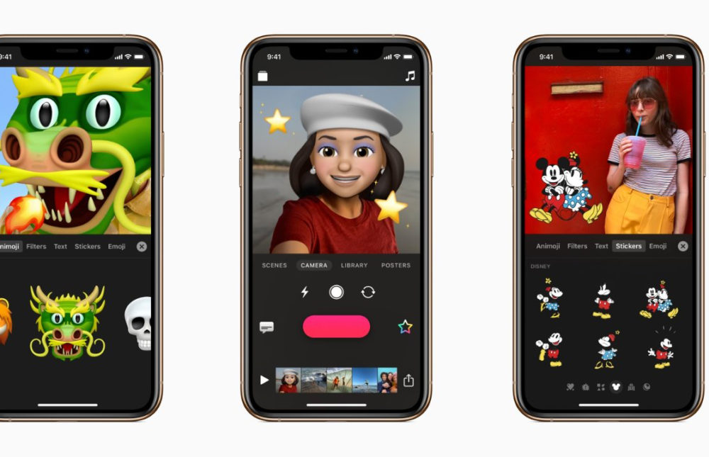 apple clips animojis Apple met à jour son application Clips et ajoute le support des Animojis et Memojis