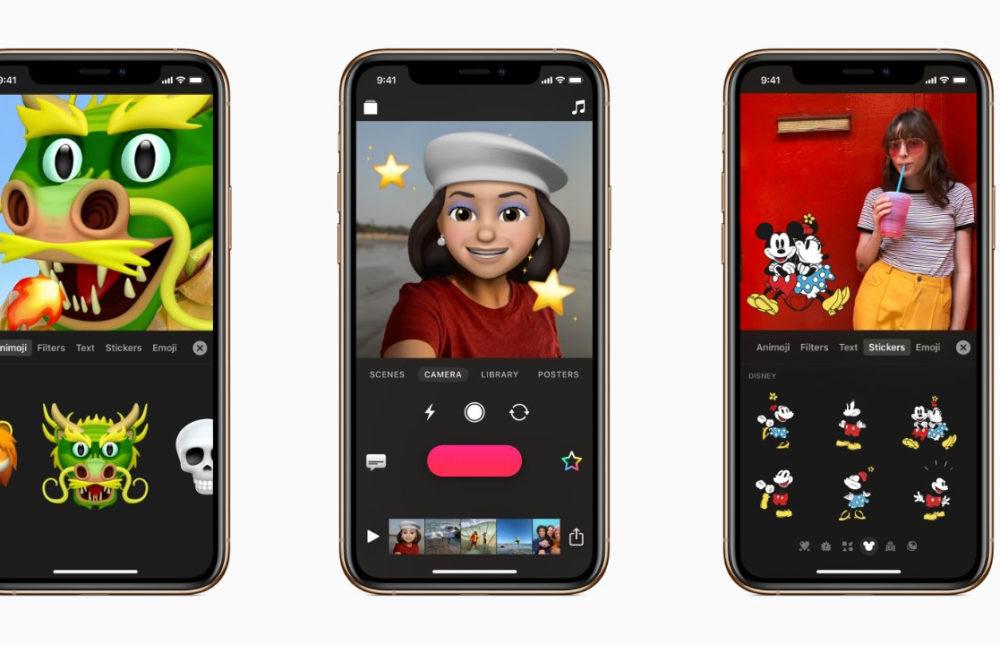 apple clips animojis Apple met à jour son application Clips et ajoute le support des Animojis et Memojis
