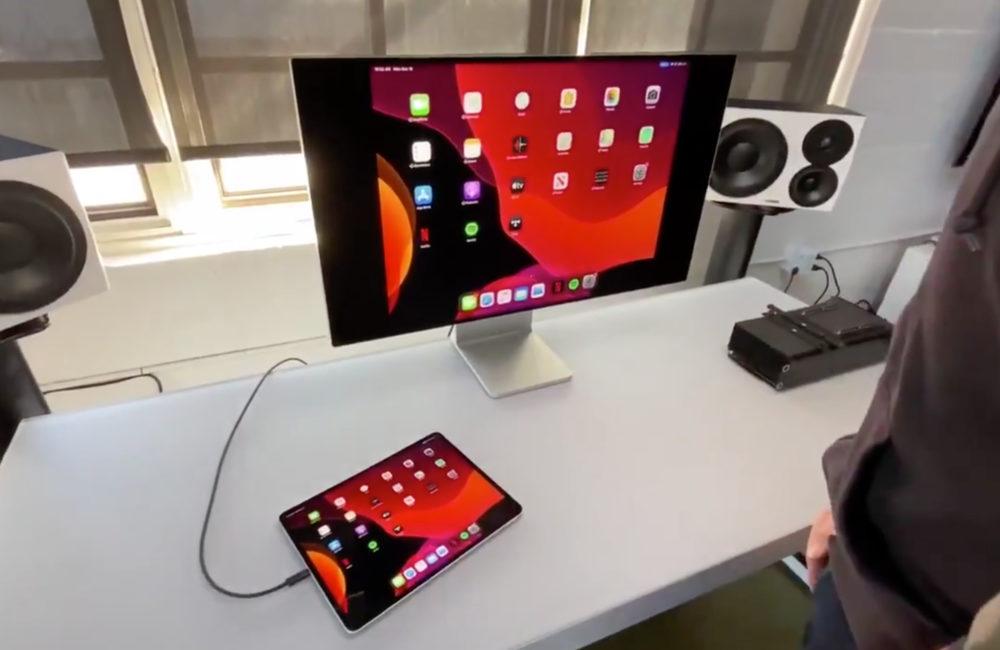 iPad Pro Pro Display XDR Le Pro Display XDR fonctionne avec liPad Pro ainsi quavec le MacBook 12 pouces