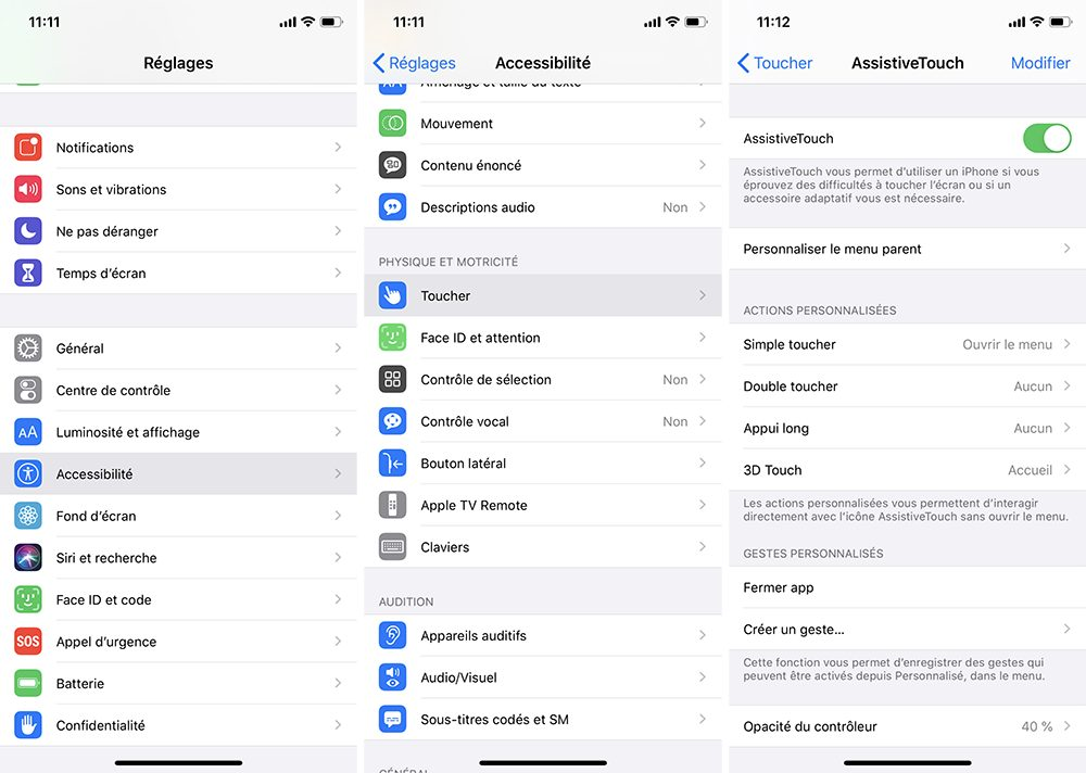 iphone activer assistivetouch Comment allumer et éteindre un iPhone, iPad, iPod touch ou Apple Watch