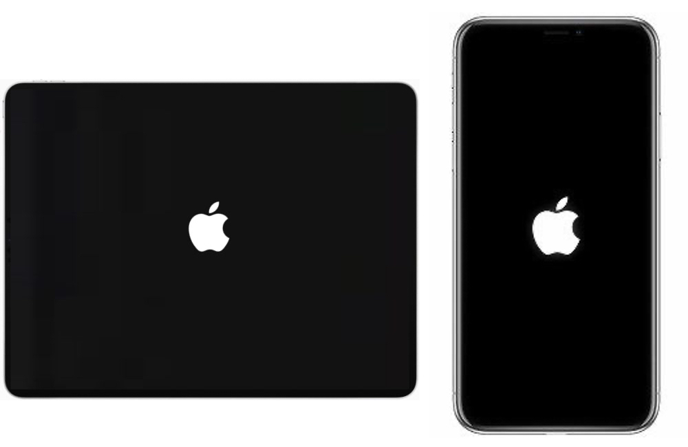 iphone ipad logo apple Comment effectuer un hard reset sur son iPhone, iPad, iPod touch ou Apple Watch