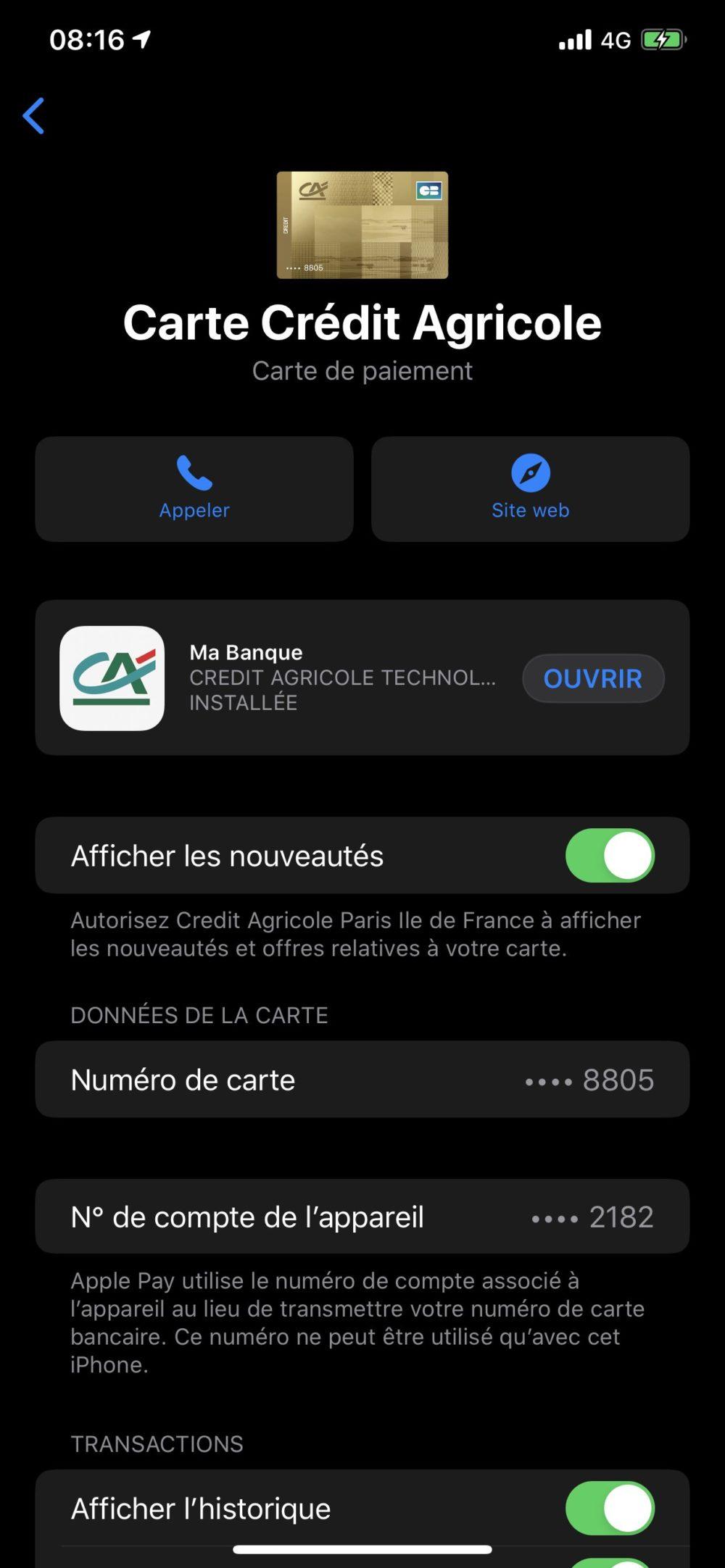 Apple Pay Credit Agricole Apple Pay : le Crédit Agricole activerait les paiements en ligne et à létranger en juin