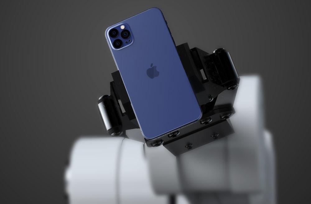 Apple iPhone 12 Bleu Navy iPhone 12 Pro : écran ProMotion à 120 Hz, Face ID amélioré et amélioration de la caméra arrière