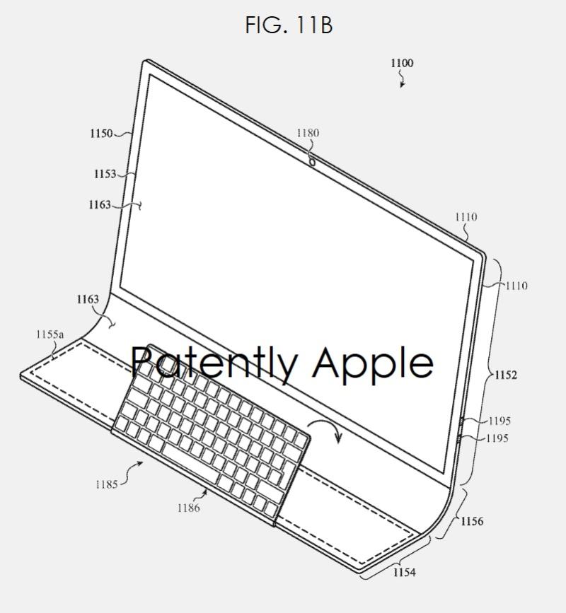 Brevet iMac Bloc de Verre 4 Un brevet déposé par Apple imagine un iMac en une seule plaque de verre courbée