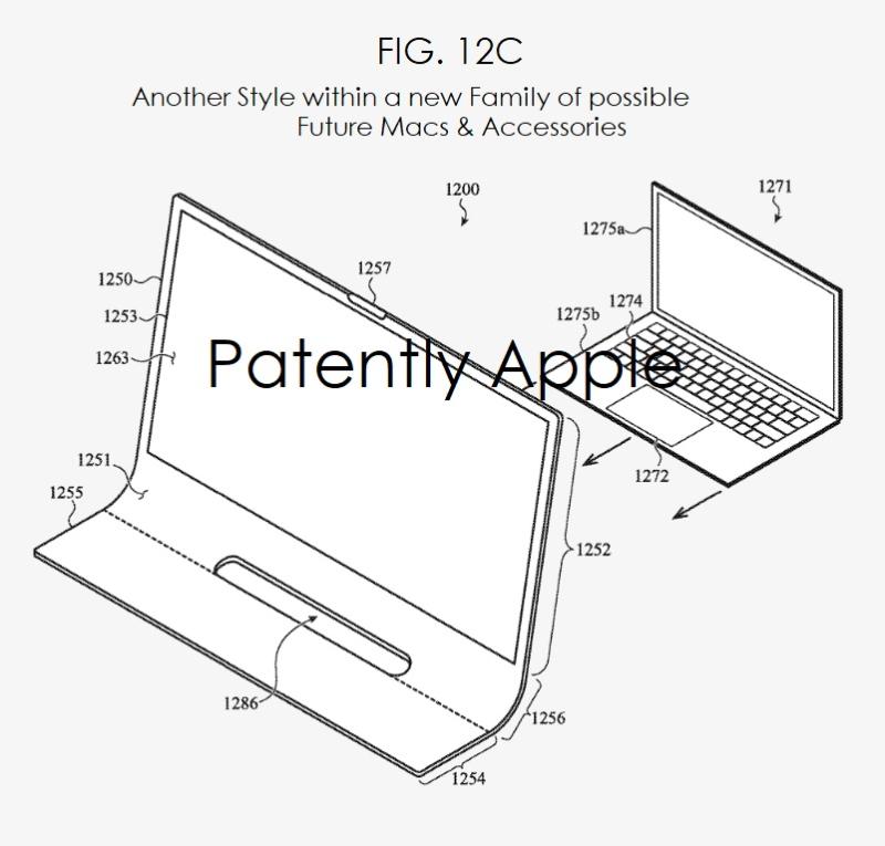 Brevet iMac Bloc de Verre 5 Un brevet déposé par Apple imagine un iMac en une seule plaque de verre courbée