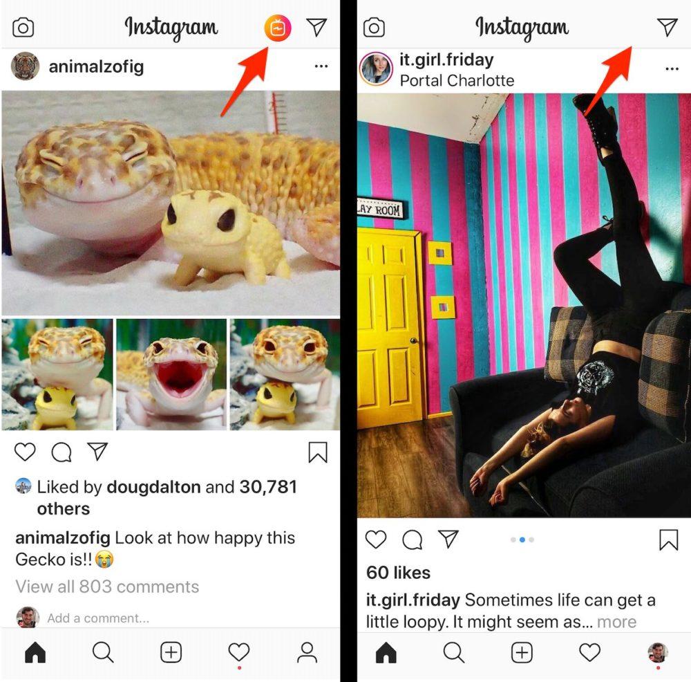 Instagram supprime IGTV Bouton Instagram abandonne le bouton IGTV sur son application