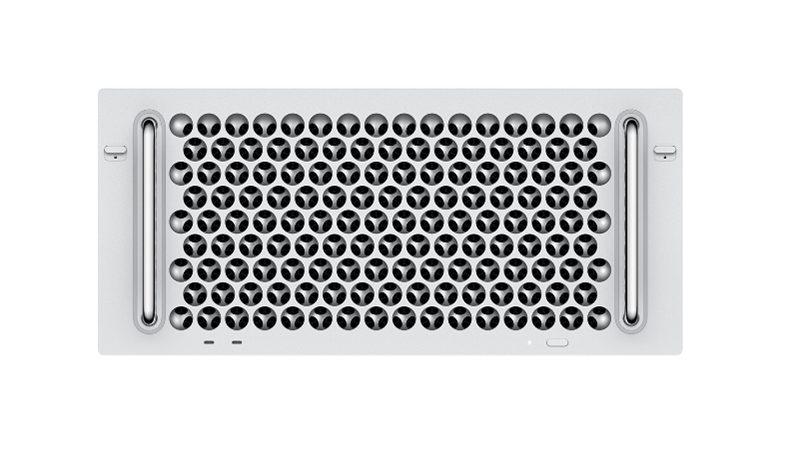 Mac Pro Version Rack 2 Mac Pro : la version rack est à présent disponible et démarre à partir de 7 199 euros