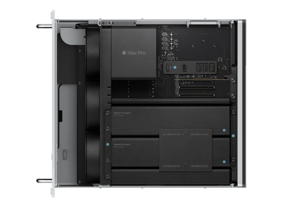 Mac Pro Version Rack Mac Pro : la version rack est à présent disponible et démarre à partir de 7 199 euros