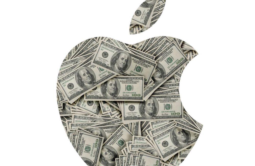 apple pomme dollars Revenus Apple : une moyenne de 1 milliard de dollars par jour dans le trimestre des fêtes