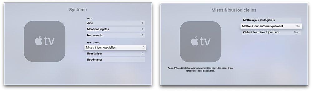 apple tv maj Désactiver la mise à jour automatique sur votre Mac, iPhone, Apple Watch, Apple TV et HomePod
