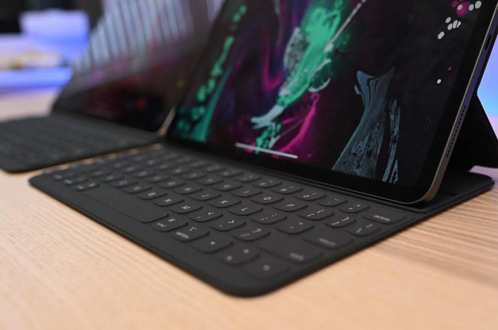 iPad Pro Smart Keyboard Un Smart Keyboard rétroéclairé avec le mécanisme à ciseaux pour les iPad Pro ?