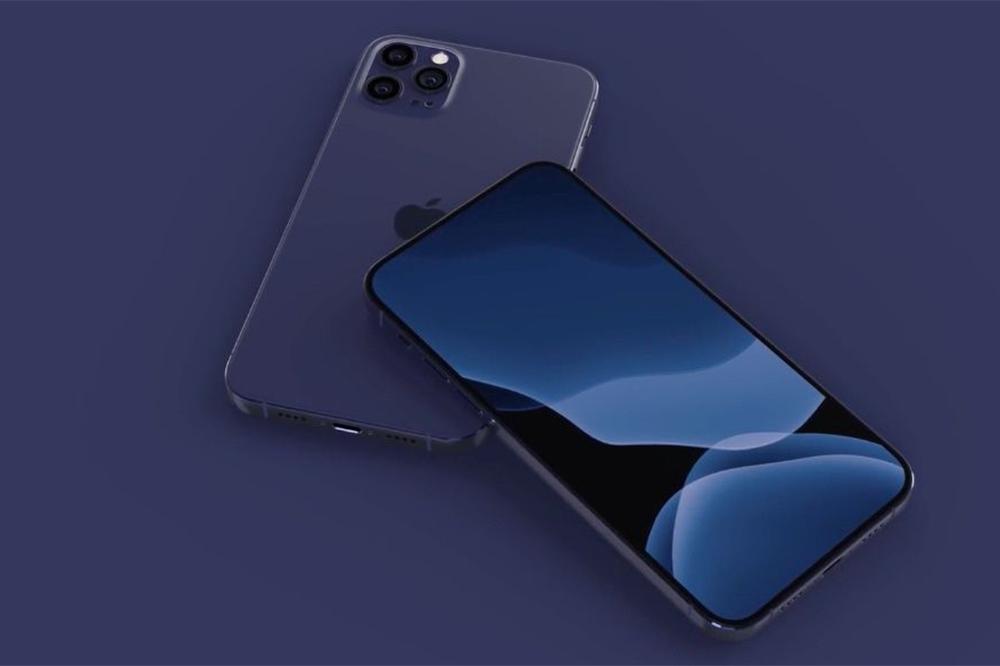 iPhone 12 Bleu Navy iPhone 12 : capteur plus grand, capteur ToF... sur les modèles haut de gamme